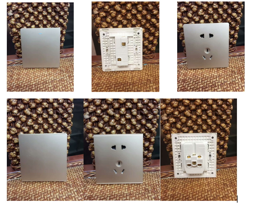 New Plastic Medium Sized Panel Switch