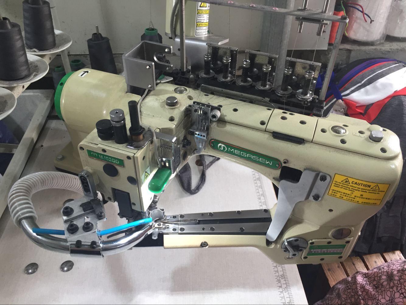 Fourneedle six lines machines