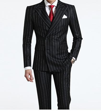 Men's business wool suit