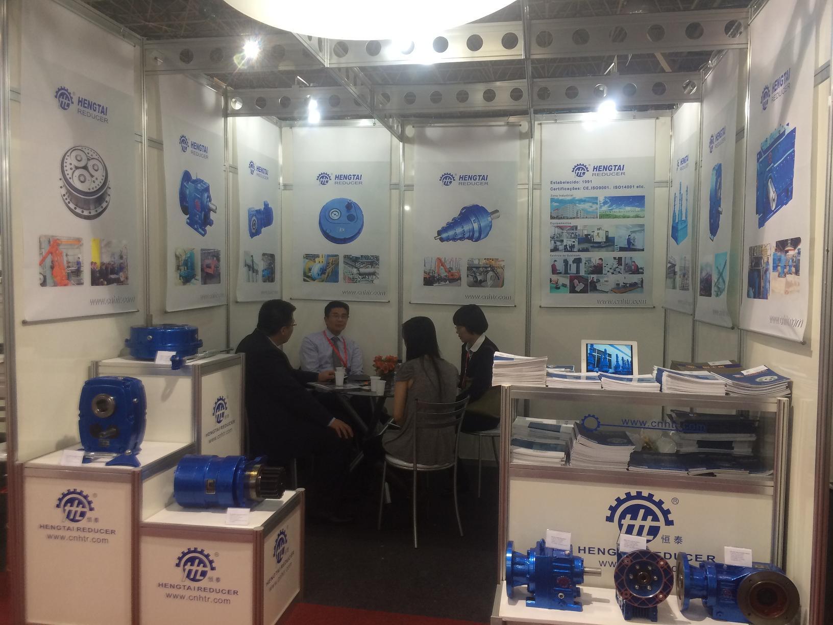 Hengtai reducer Exhibitions Mecanica Brazil
