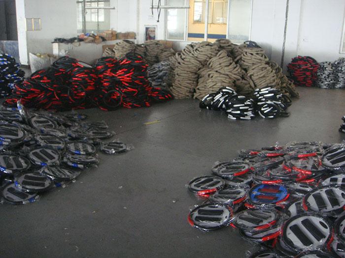 Car Steering Wheel Production