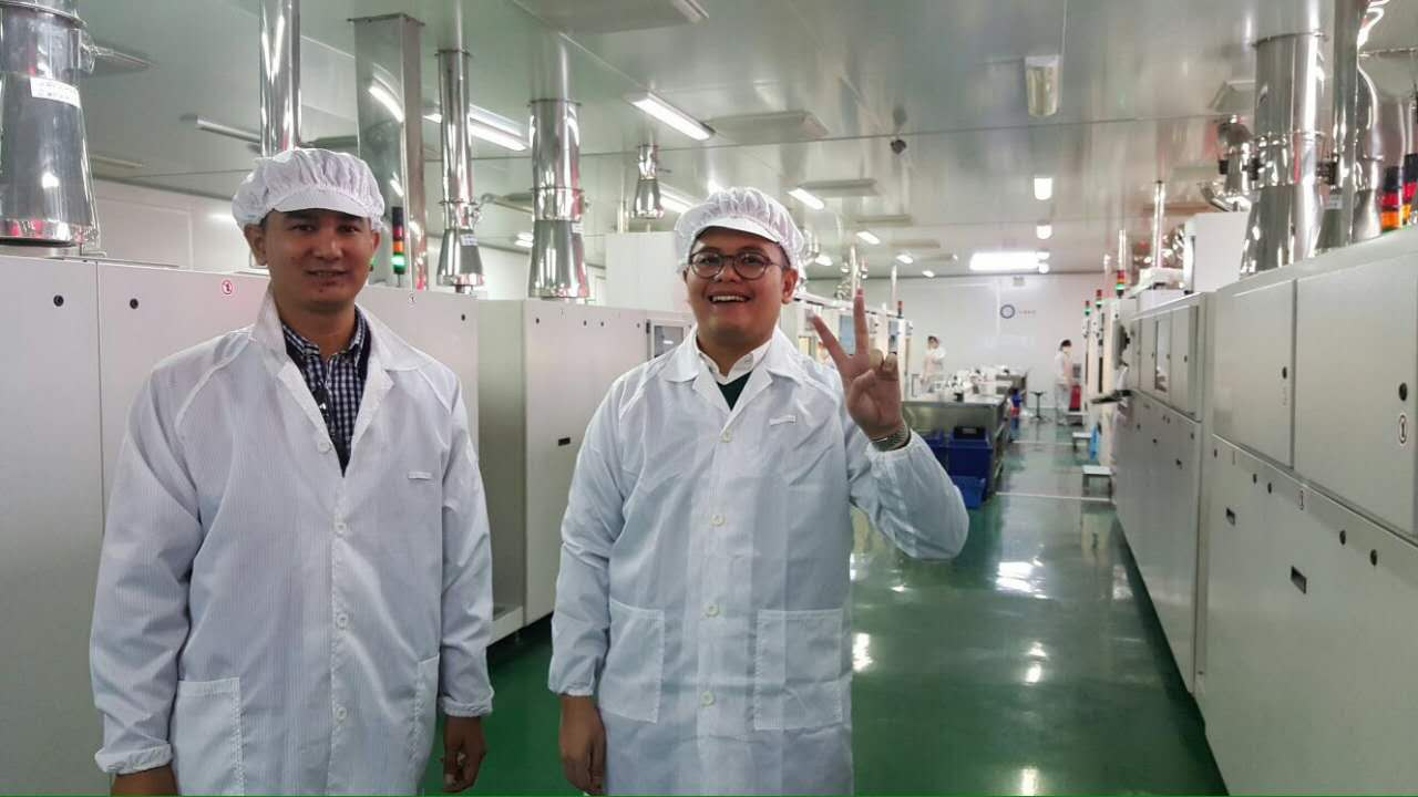 Potential Clients from Indonesia Visited Zocen Solar