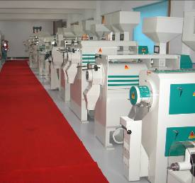 Exhibitions Room Of Hunan Xiangliang Machinery