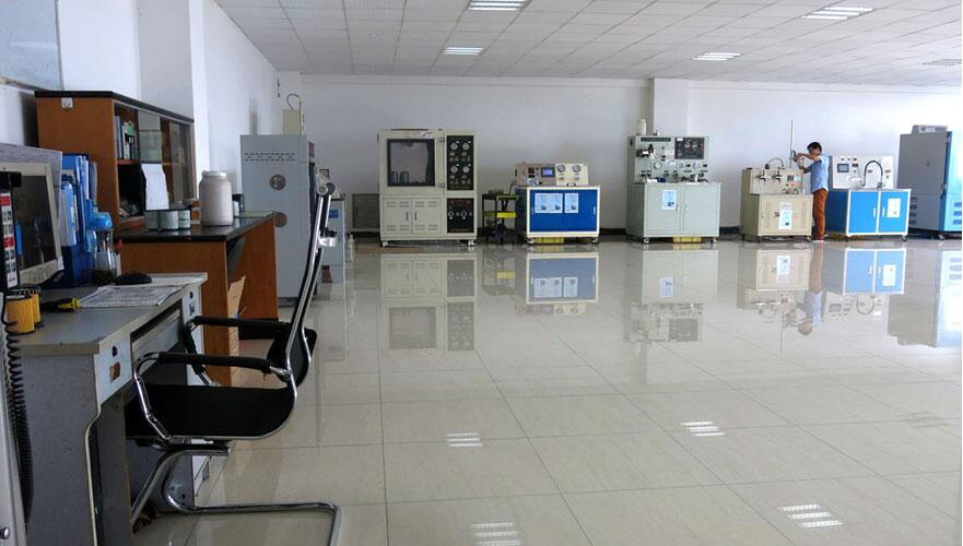 We have advanced oil filter producing equioment and test equipment