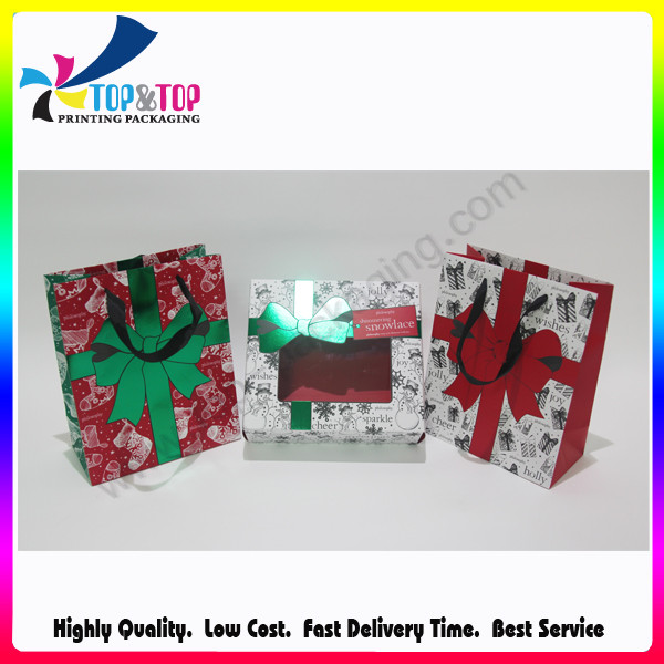 Paper gift bag to pack children product