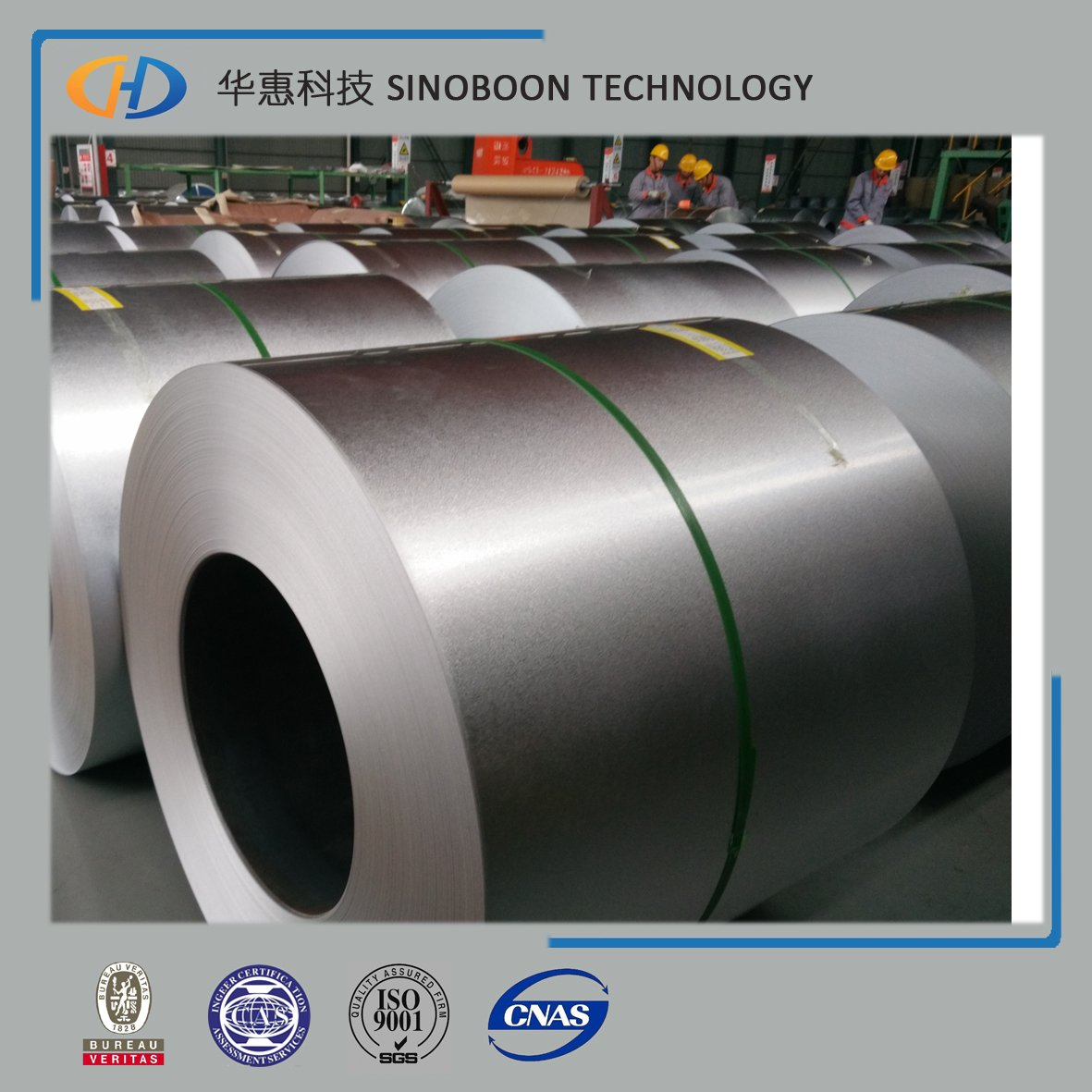 55% AL galvalume steel coil