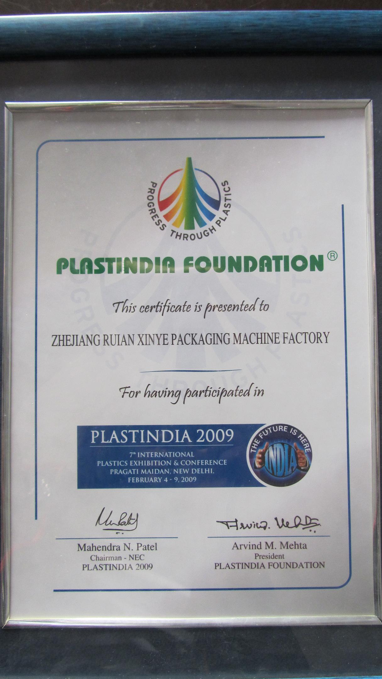 plastic india
