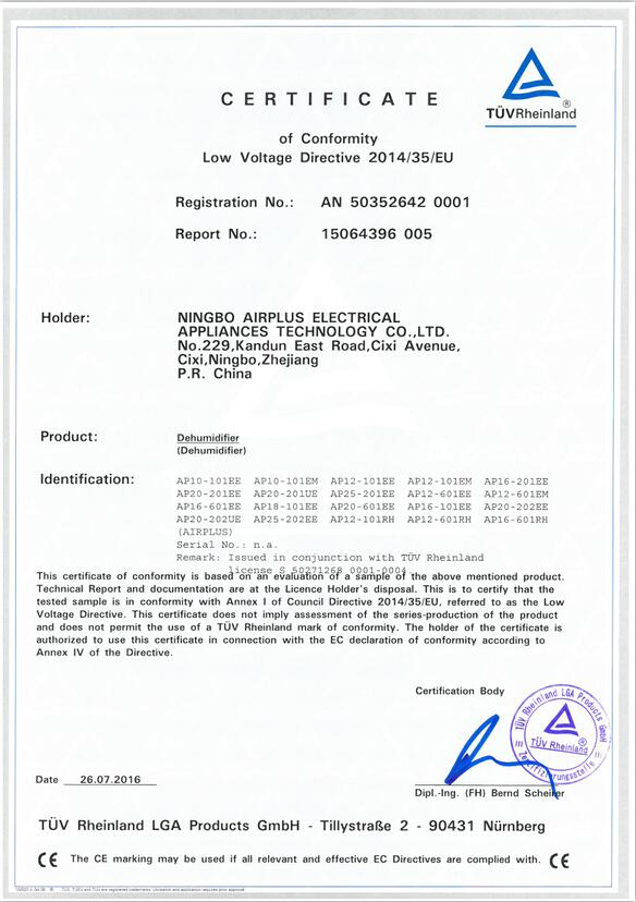 Low Voltage Directive 2014/35/EU