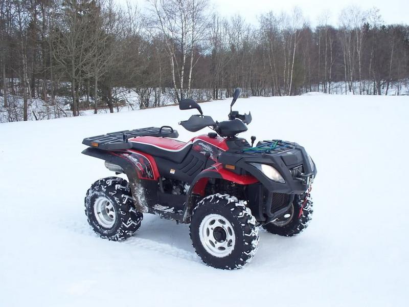 400CC 4x4 ATV in Romania