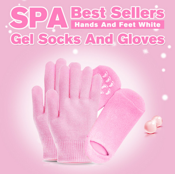 SPA foot care hands care gel socks and gloves