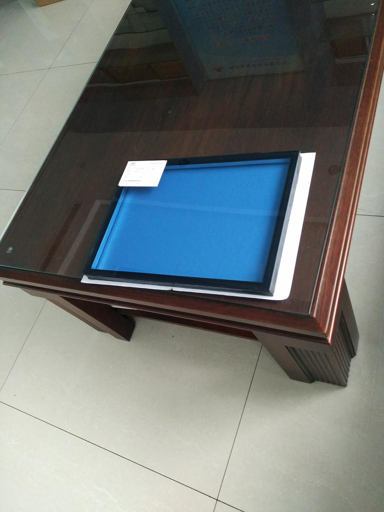 6+12a+6mm Ford Blue insulated glass