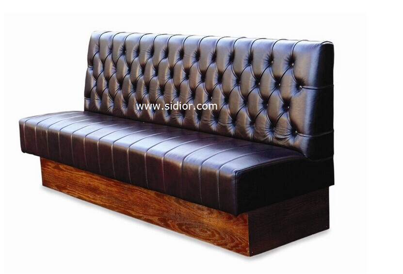 SD4004 Modern Dining Hotel Restaurant Furniture for Leather Booth Sofa