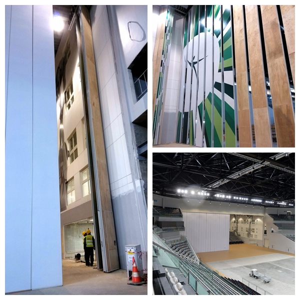 16.54m High Partition Wall For National Gymnastic Arena,Baku,Azerbaijan
