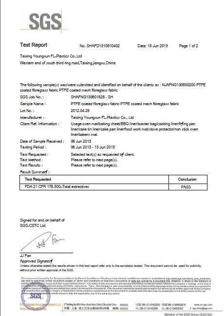 LFGB certificate