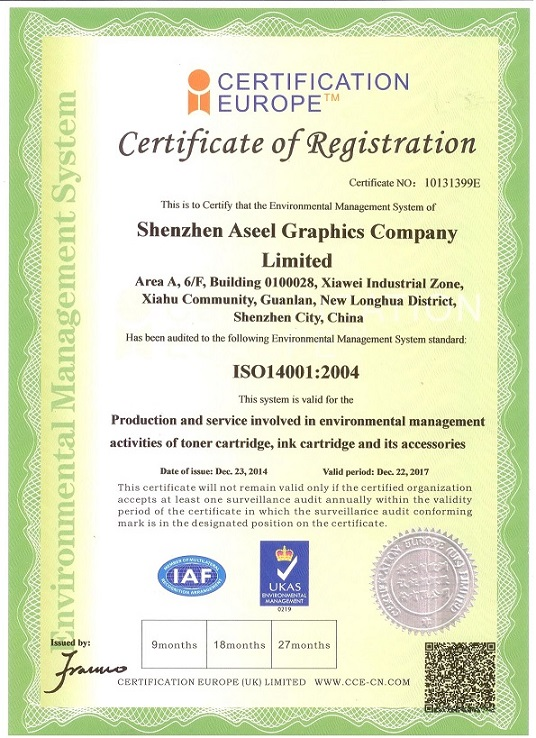 Environmental Management System ISO14001:9004