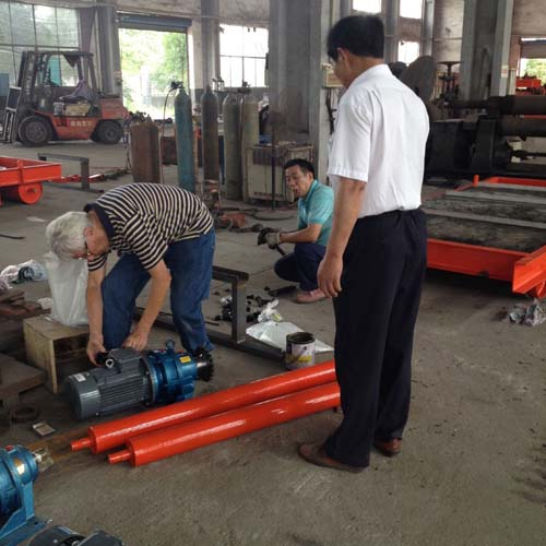 American Customer Visit for Magnetic Separator