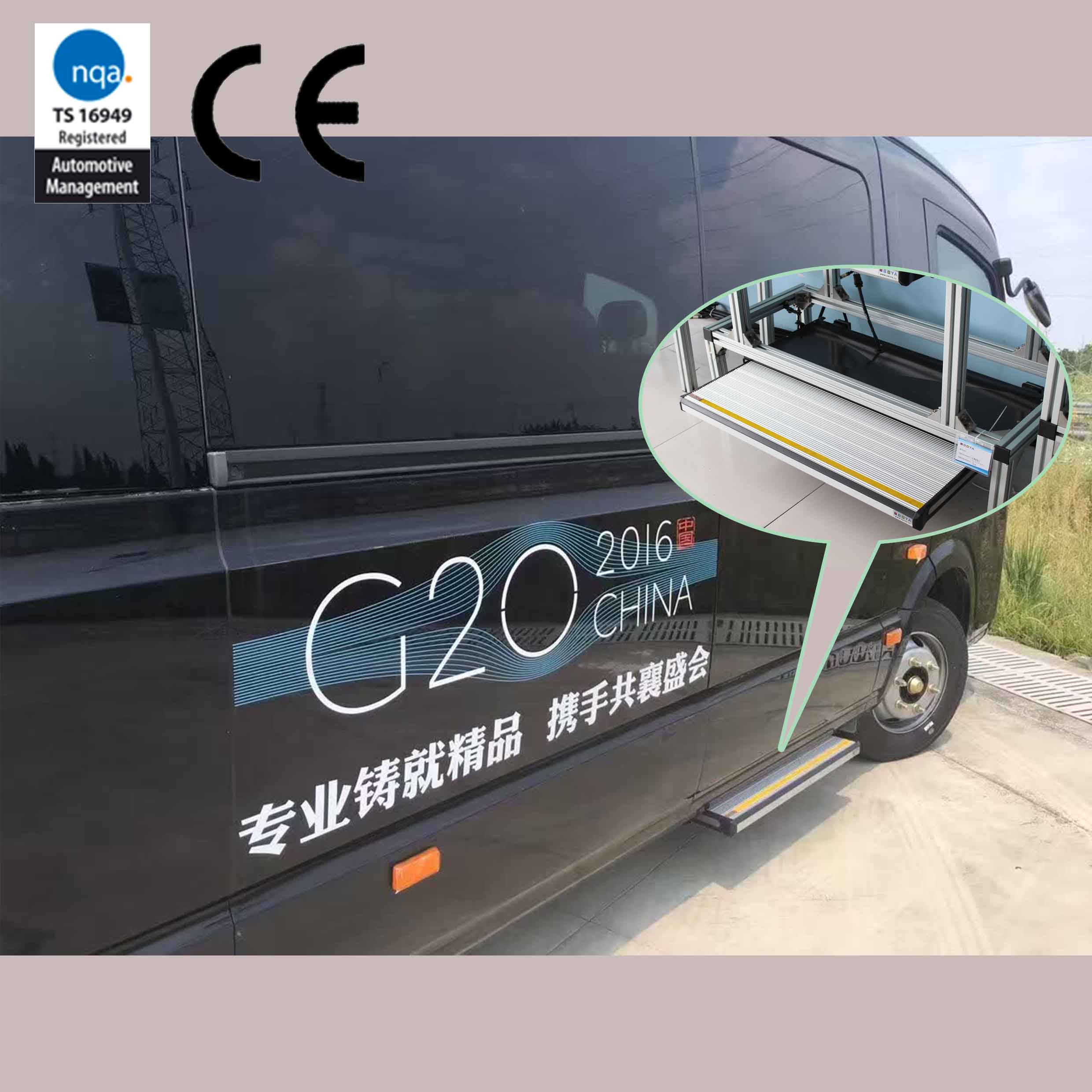 Oboya Electric Slid Step are appointed for the specially used in G20 Summit -2016