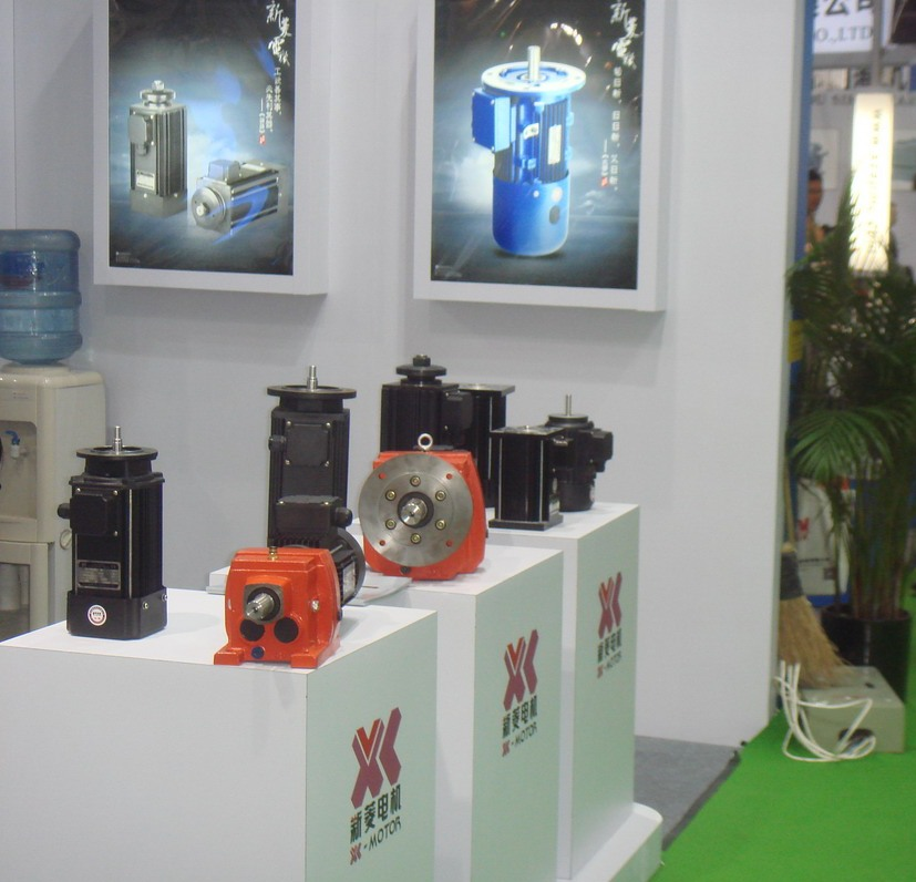 XL-Motor booth at Shanghai PTC Exhibition -5