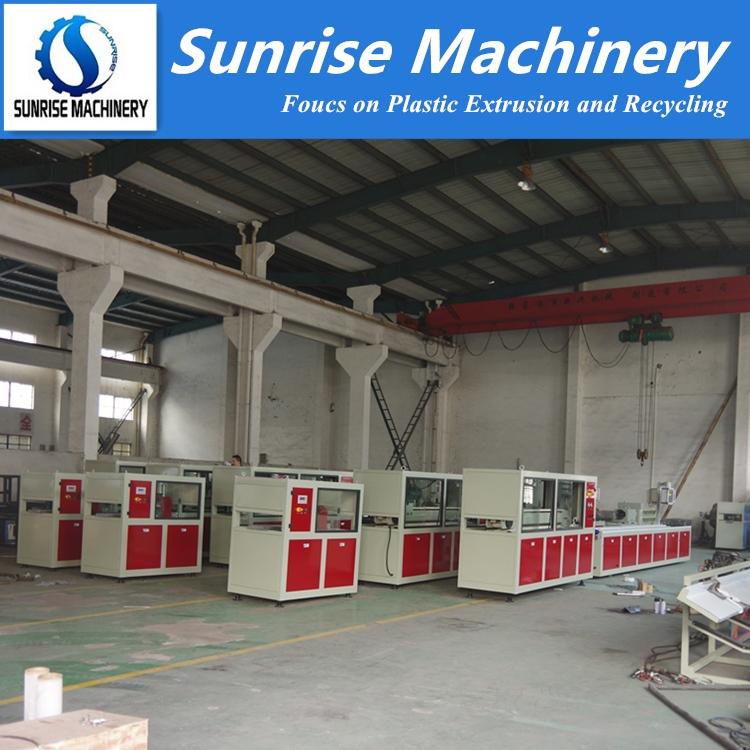 PVC Profile Extrusion Making Machine