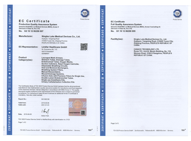 CE class IIa --Luke Medical
