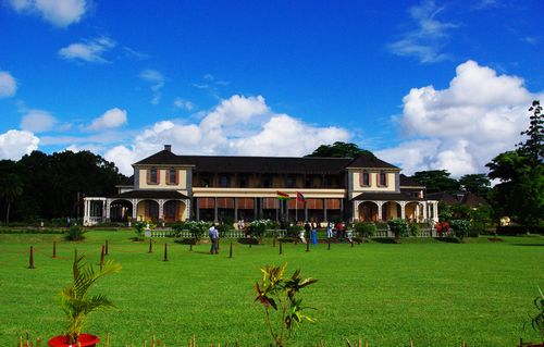 Presidential Palace of Mauritius (Africa)