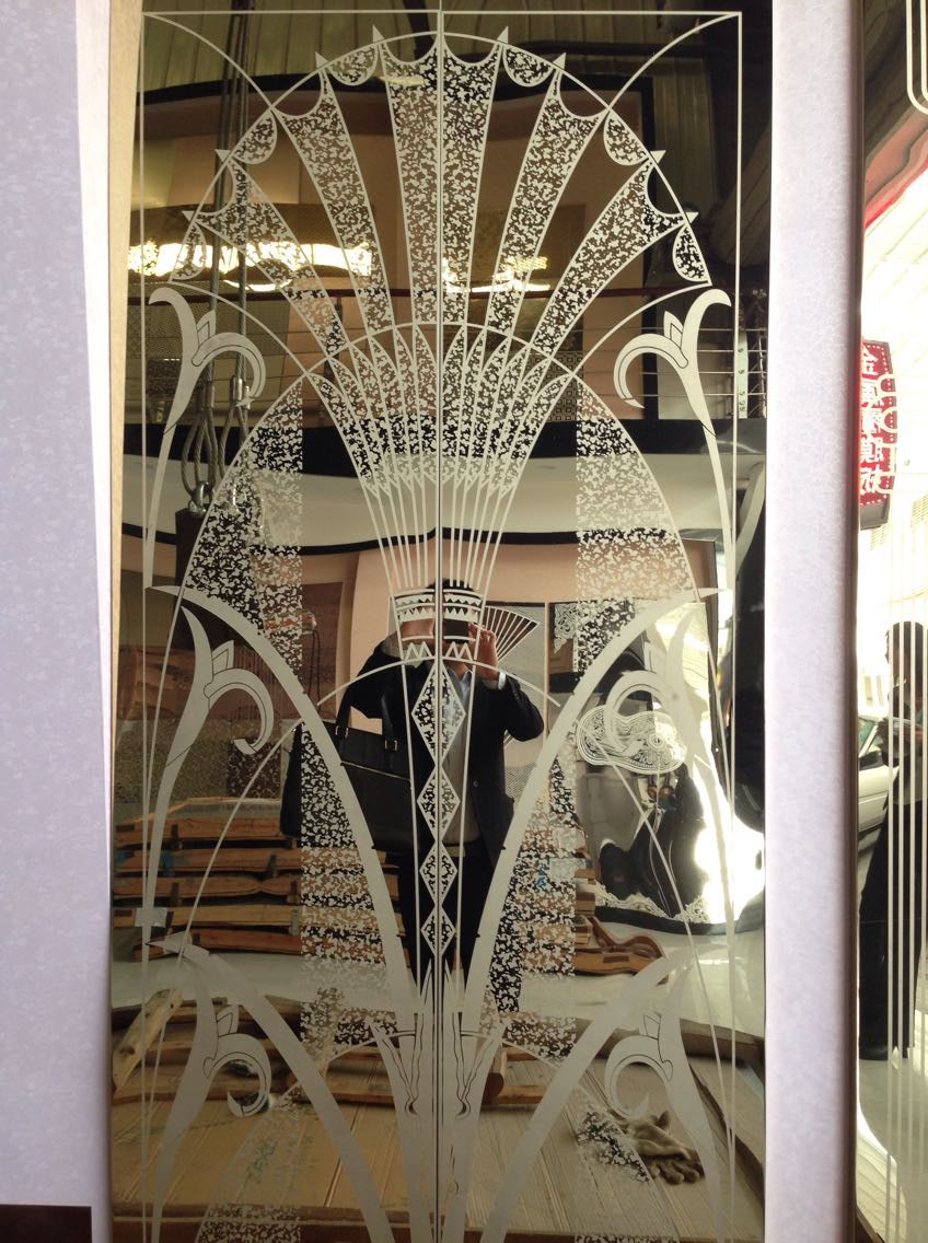 304 etched designs stainless steel sheets for elevator door