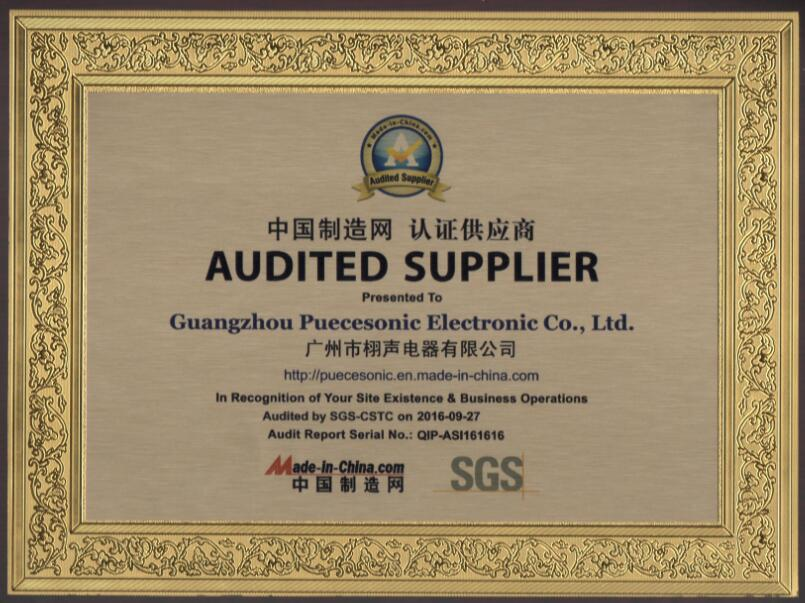 SGS Audited Company