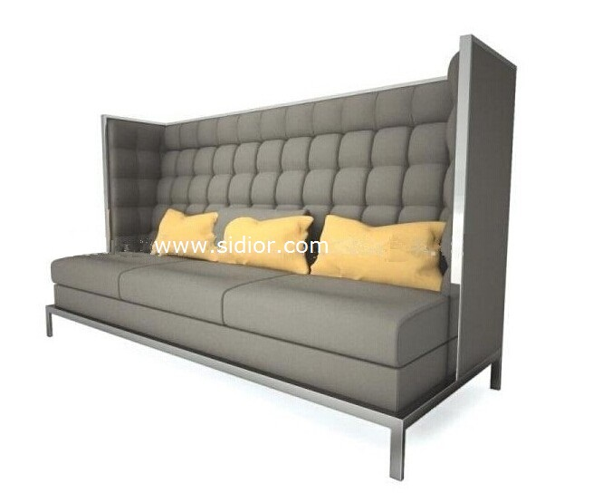 (SD-4007) Modern Dining Hotel Restaurant Furniture for Leather Booth Sofa
