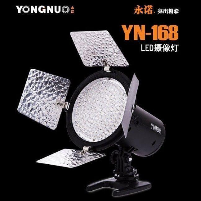 YN-168 LED Illumination Video Light Lamp