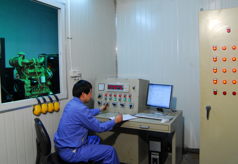 Control Room for Commissioning
