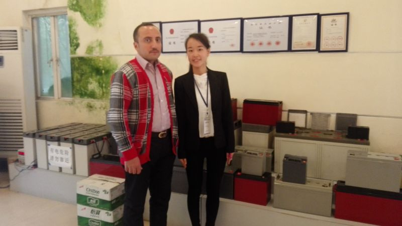 Iraq clients and CSPOWER GEL battery
