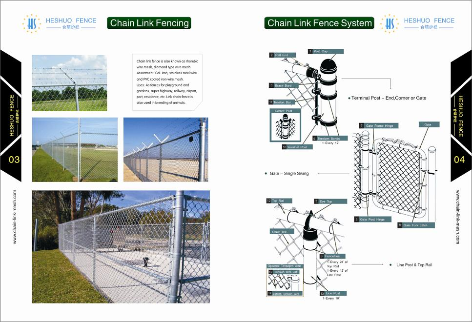 Chain Link Fence Catalogue