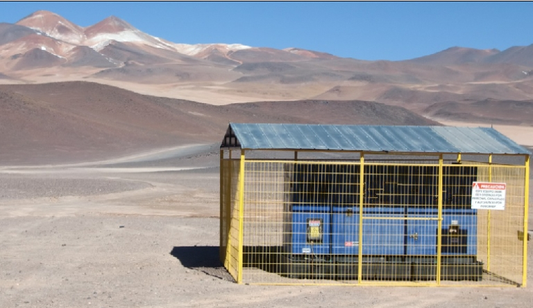 Huihe Gensets Adopted in the Hot Desert