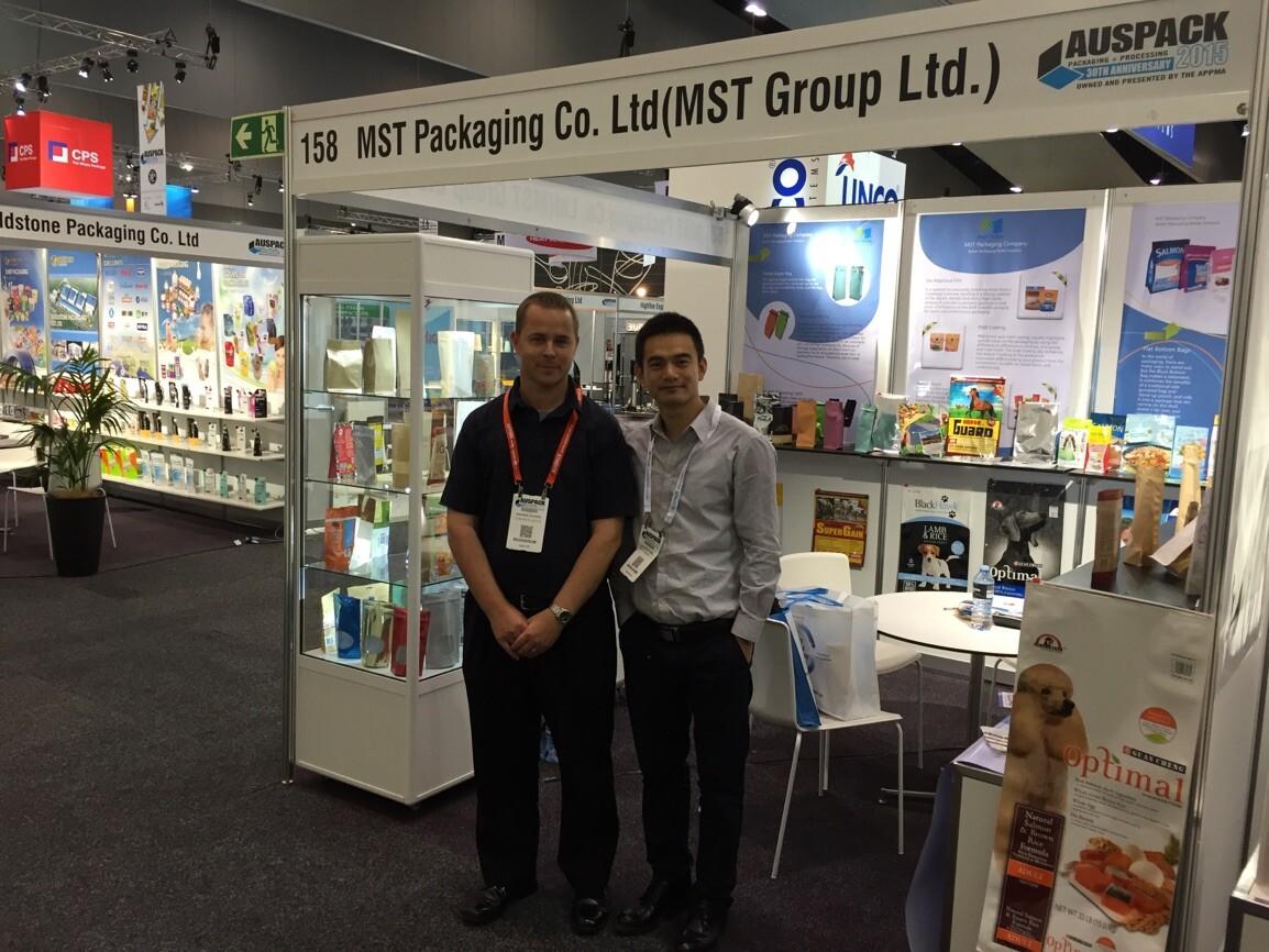 2015 Australian Packaging Exhibition --Andrew & Michael