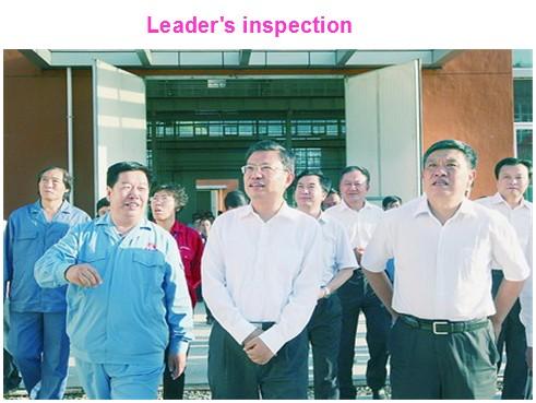 Leader's Inspection on Sundream