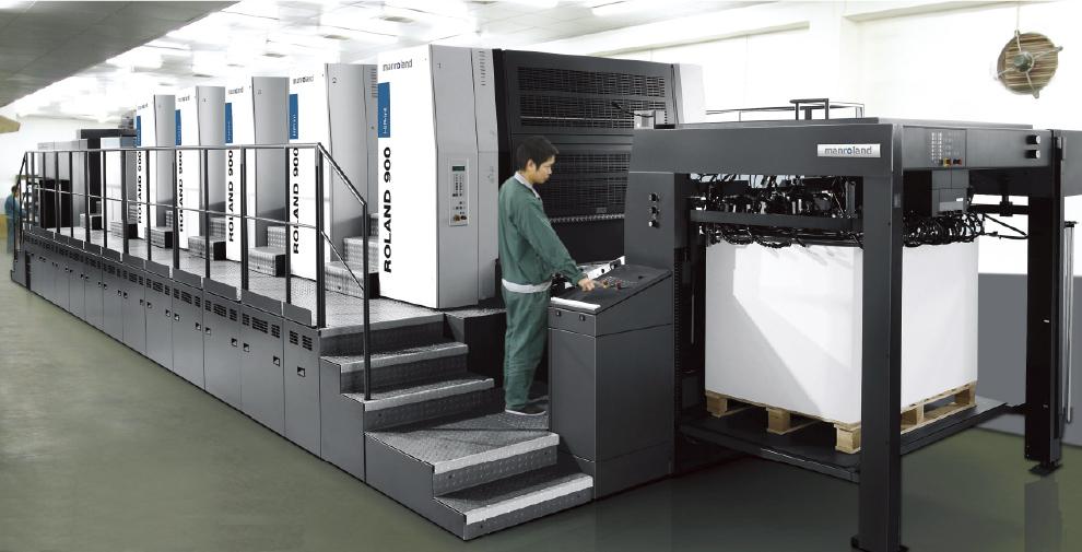 ManRoland High Speed Printing Press