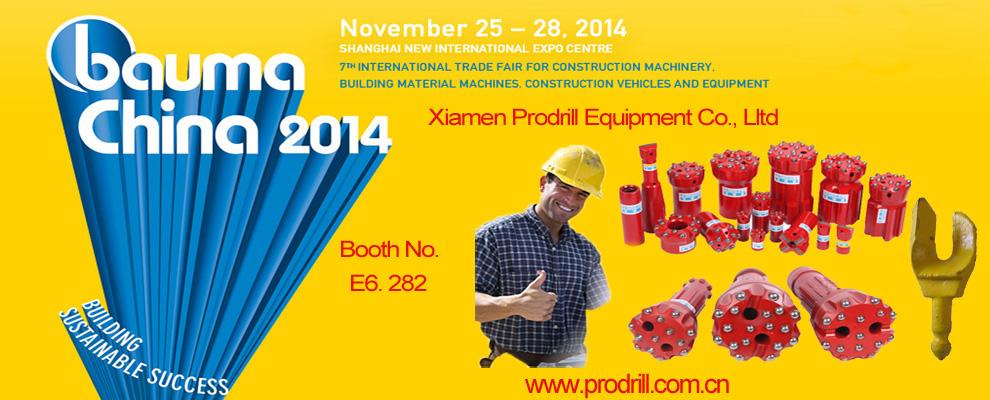 Prodrill Equipment attend the Bauma Show 2014