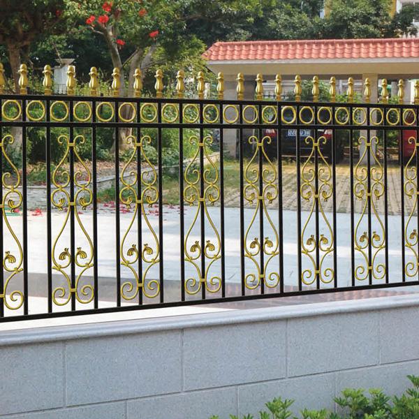 Power Coated Aluminum Garden Fence