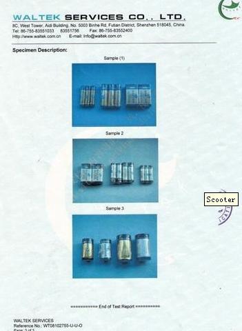 Determination of Hazardous Substances Test Report(ROHS)