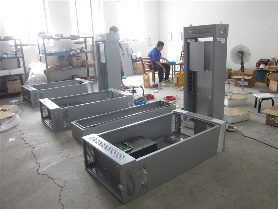 Electrical cabinet assemblying