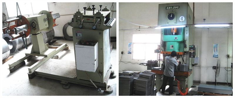 One of our biggest stamping machine