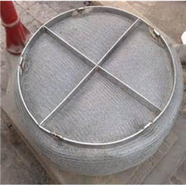 Wire mesh demister