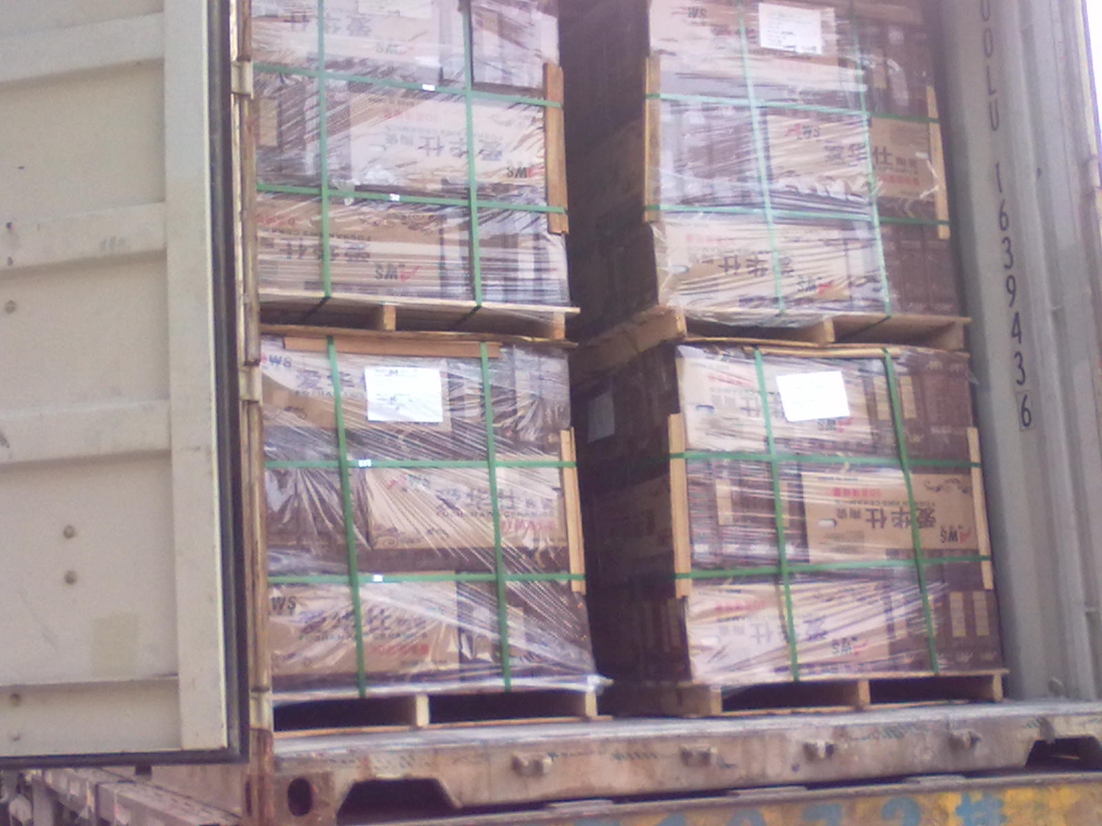 Successful Loading Shipping For Ceramics Tiles From Foshan To