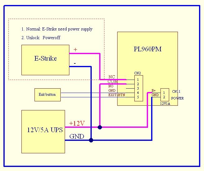 wifi IP video door phone with lock connection