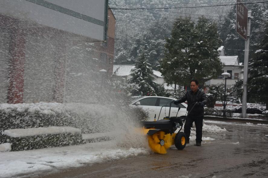 Gasoline sweeper testing