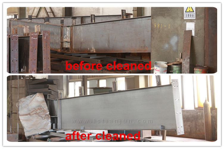 effects of Shot blasting