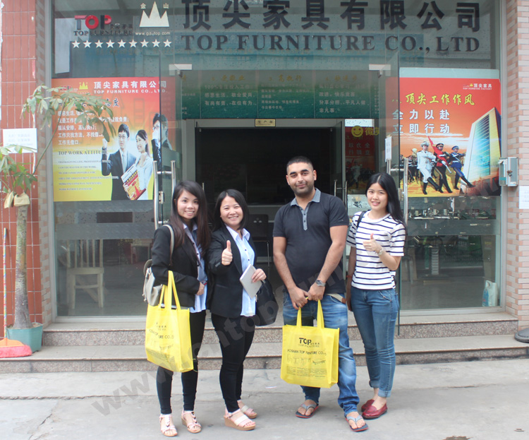 Customer Visit top furniture factory