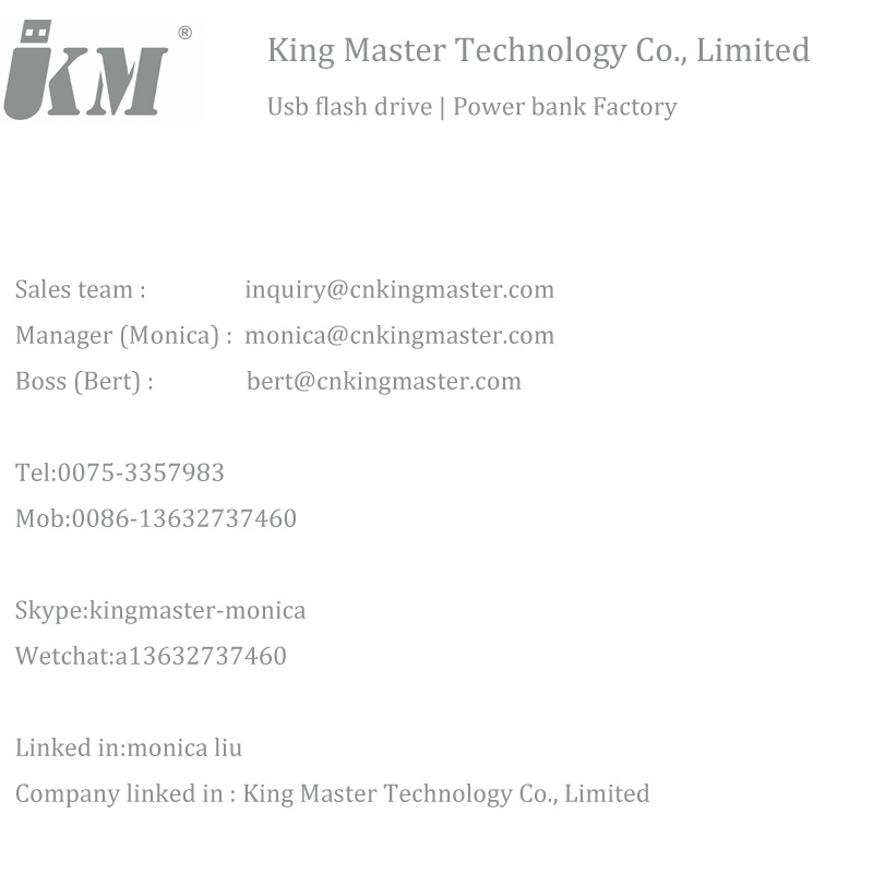 King Master Contact Information