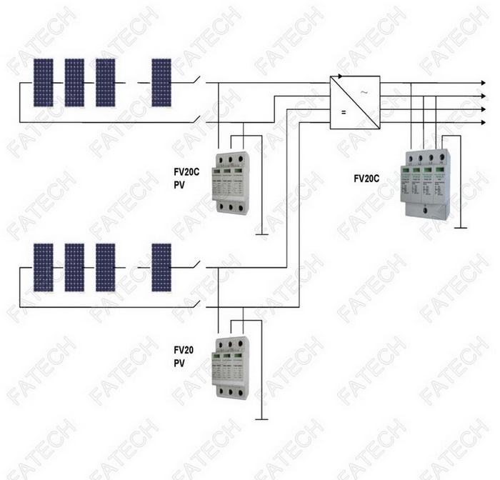 How Can I Wire This Three Way Circuit Between Two Buildings With Only 3 Conducto as well Electricity Three Way Switching in addition In Minecraft How Do I Randomise The Output In A Redstone Circuit likewise Construction Setting Up The Power in addition Solar Photovoltaic PV System Surge Protection. on house circuit diagram