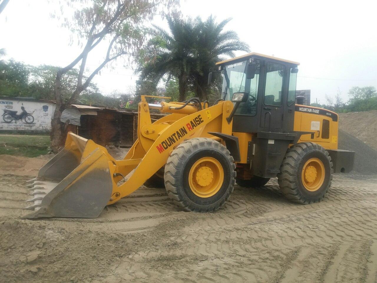 3 ton heavy duty wheel loader